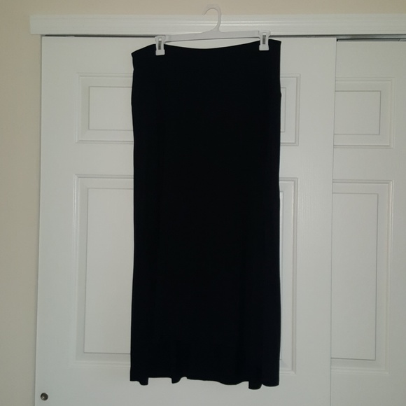 Catherines Dresses & Skirts - Catherines Black Maxi Skirt